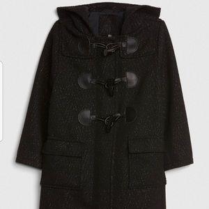 NWT Gap Glitter Duffle Coat, Size 5T